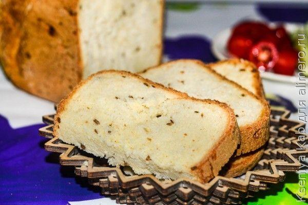 Хлеб в хлебопечке с семечками подсолнуха 5