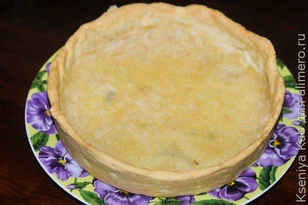 грибной пирог