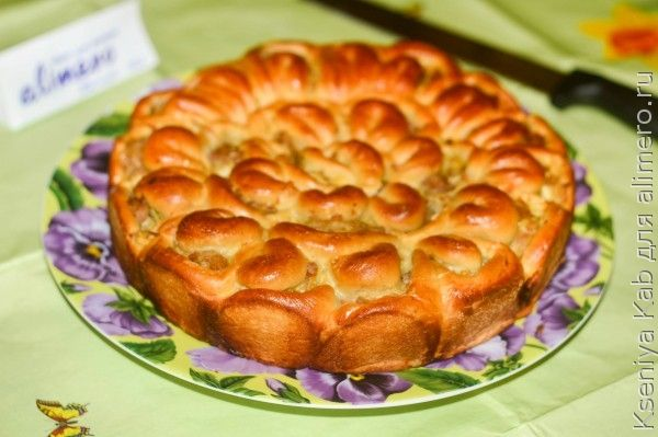 Пирог с колбасой в духовке рецепты с 153