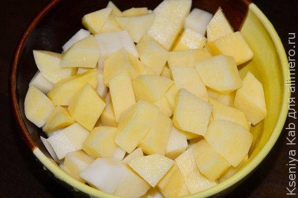 суп из лука-порея