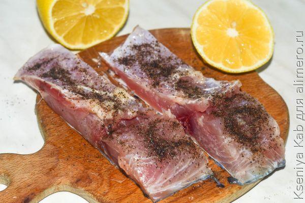 рыба гриль в микроволновке