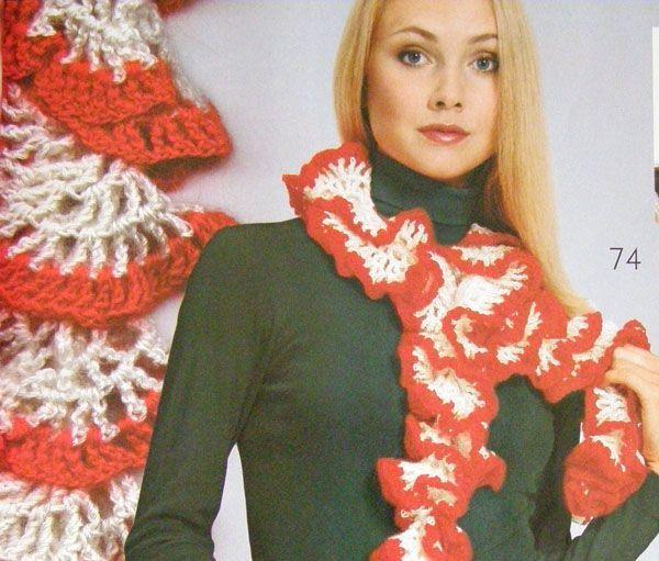 Шарф волан - Всё о шарфах здесь