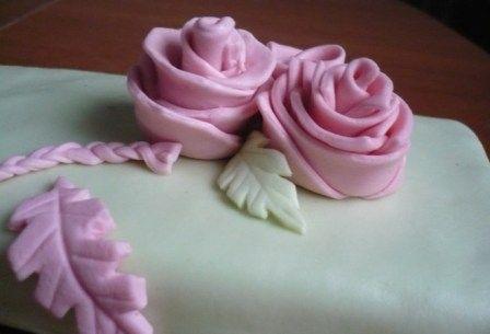 Украшаем торт домашней мастикой