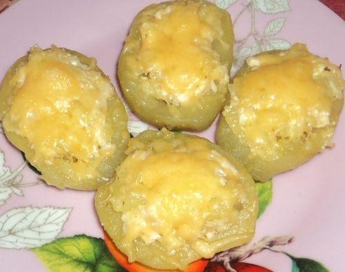 лодочки из картошки в духовке рецепты с фото