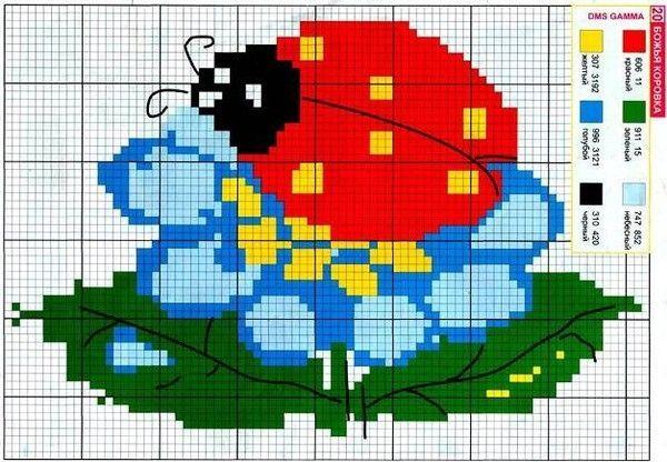 十字绣图解(47) - 柳芯飘雪 - 柳芯飘雪的博客