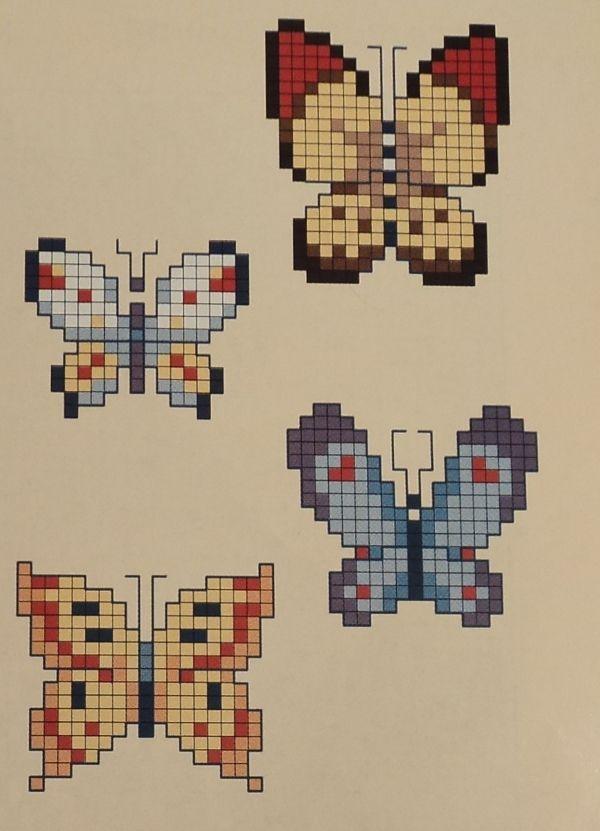 Эти схемы для вышивки крестом