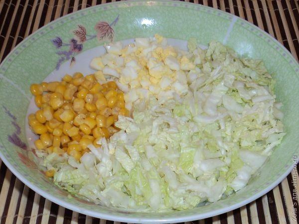Салаты с кукурузой консервированной рецепты с простые и вкусные