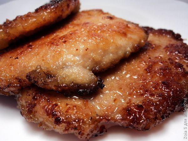 Курица с грибами в сливочном сметанном соусе рецепт