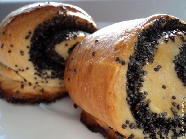 рецепты булочки с маком в домашних условиях с фото