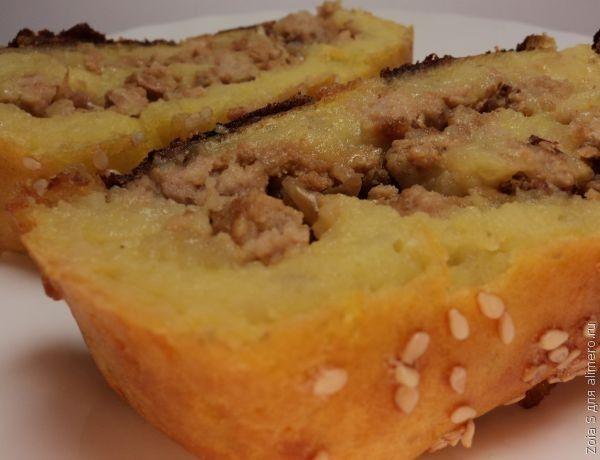 Картофельный рулет с фаршем в духовке – рецепт с фото