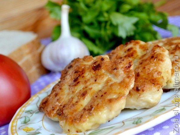 куриные рубленные котлеты с плавленным сыром рецепт с фото