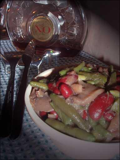рецепты диетических салатов с фасолью
