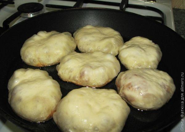 Очень вкусные постные жареные пирожки