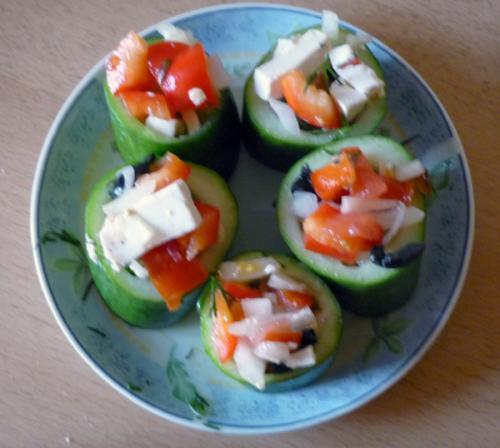 рецепты салатов в корзиночках с фото