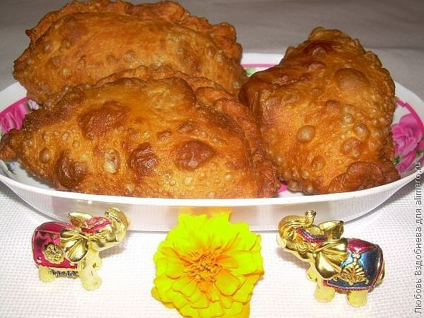 Самосы - постные пирожки индийской кухни