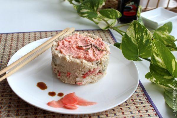 Японская кухня рецепты салаты