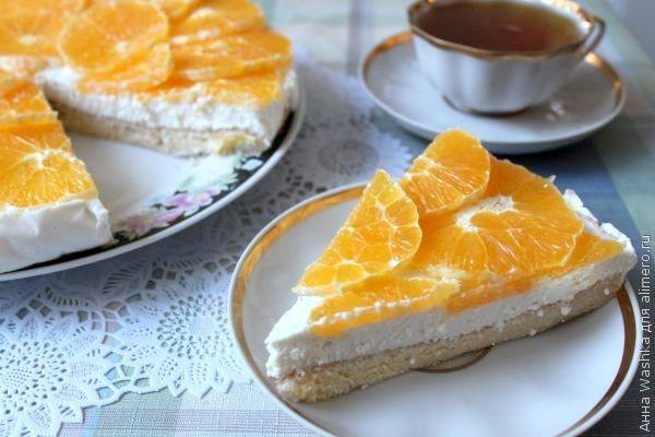 Творожный торт «Оранжевое настроение»