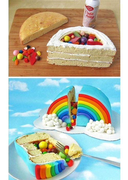 25 идей для тортов с сюрпризом