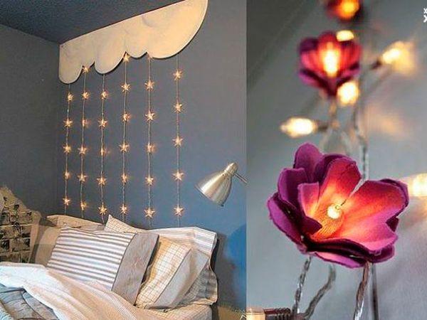 Красивое освещение комнаты своими руками 53