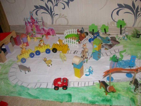 Как мы сделали игрушечный городок