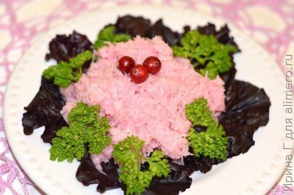 салат из черной редьки рецепт