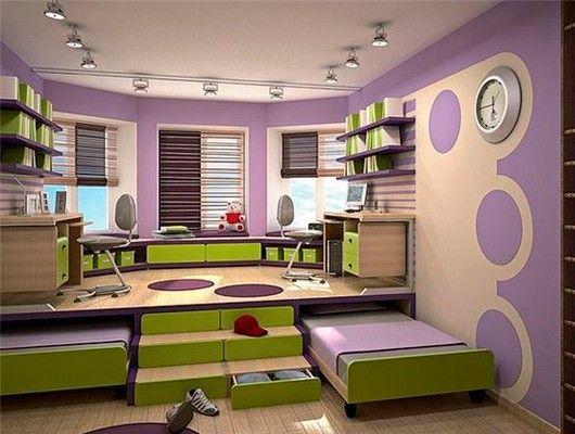 Идеи для маленьких детских комнат