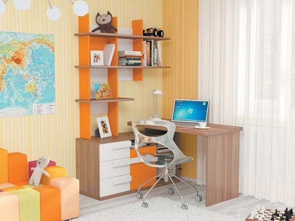 Стол для школьника в интерьере, идеи.