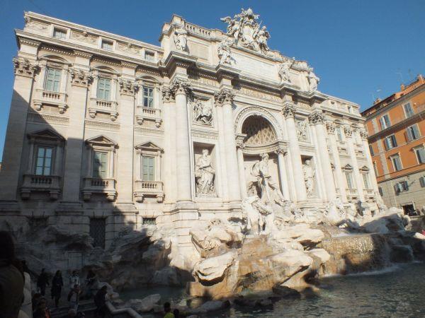 Треви, знаменитейший Римский фонтан
