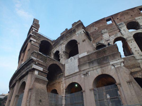 Колизей закрыт на реконструкцию