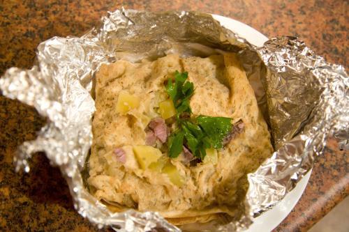 свинина с картофелем в фольге фото рецепт