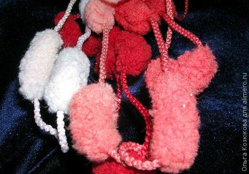 Бахрома на шарф своими руками