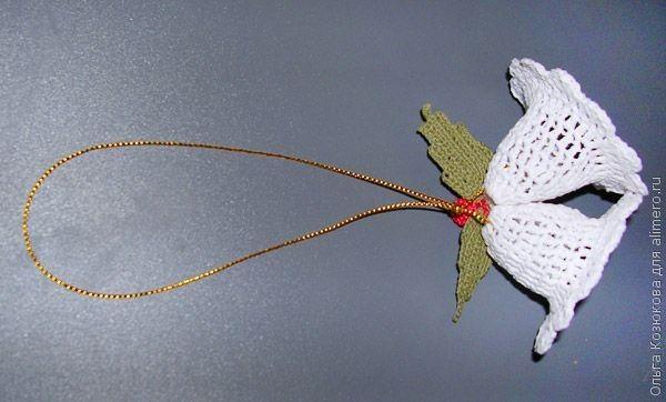 Новогодние колокольчики, вязаные крючком
