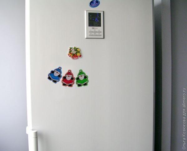 Вышитые магниты на холодильник