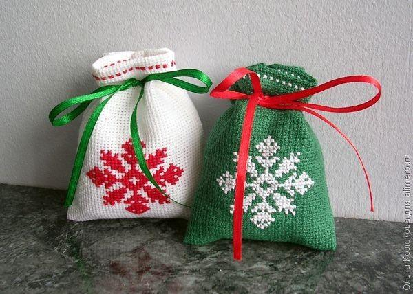 Мешки подарки своими руками 98