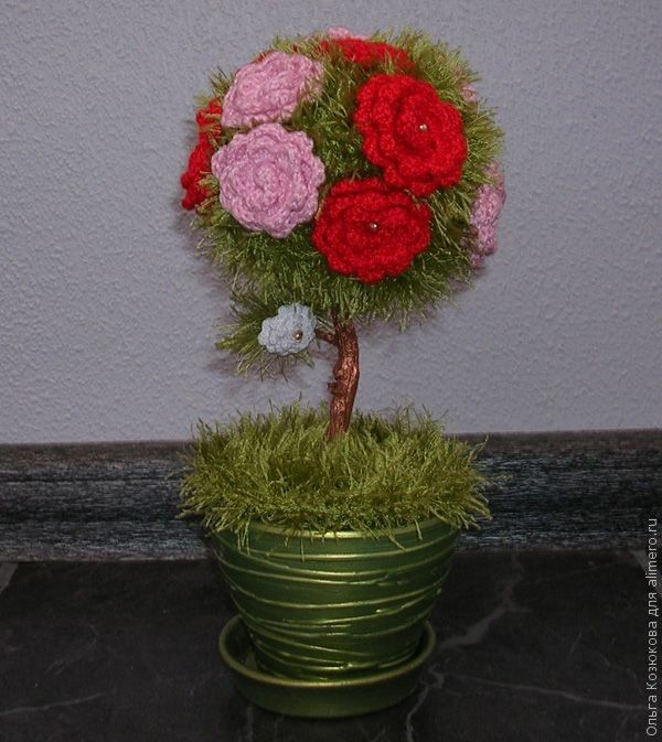 Вязаное дерево