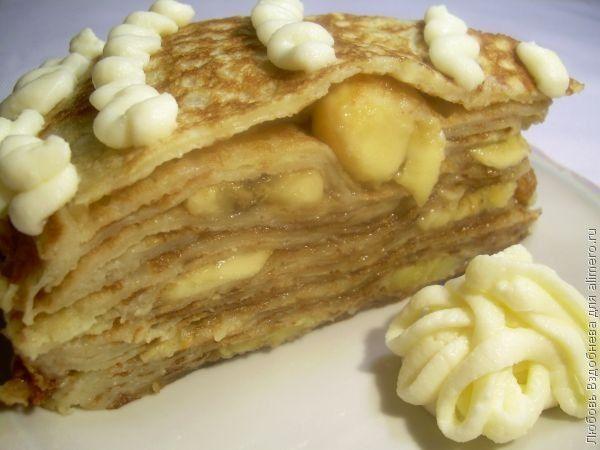 Торт из блинов