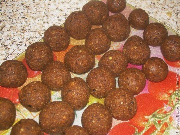 конфеты Каштан