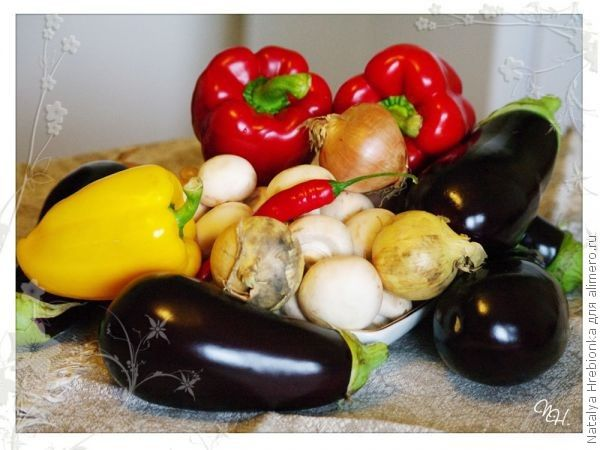 ингредиенты для приготовления блюда