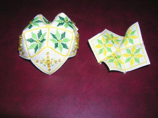 Вышивка крестом: Бискорню Зигугу В Подарок Три Мастер Класса - Схемы Бискорню ФОТО #27.