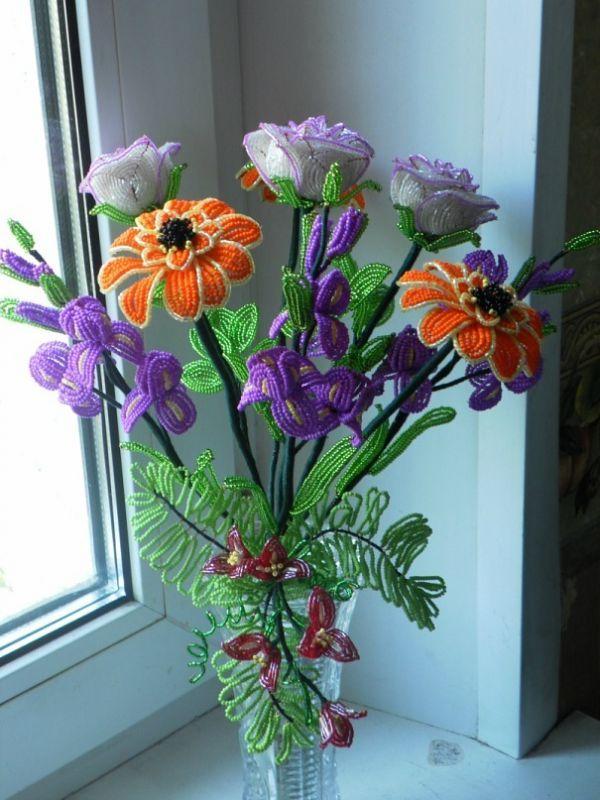 Бисероплетение: Цветы.