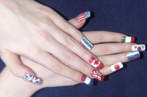 ногти дизайн нарощенных ногтей фото.