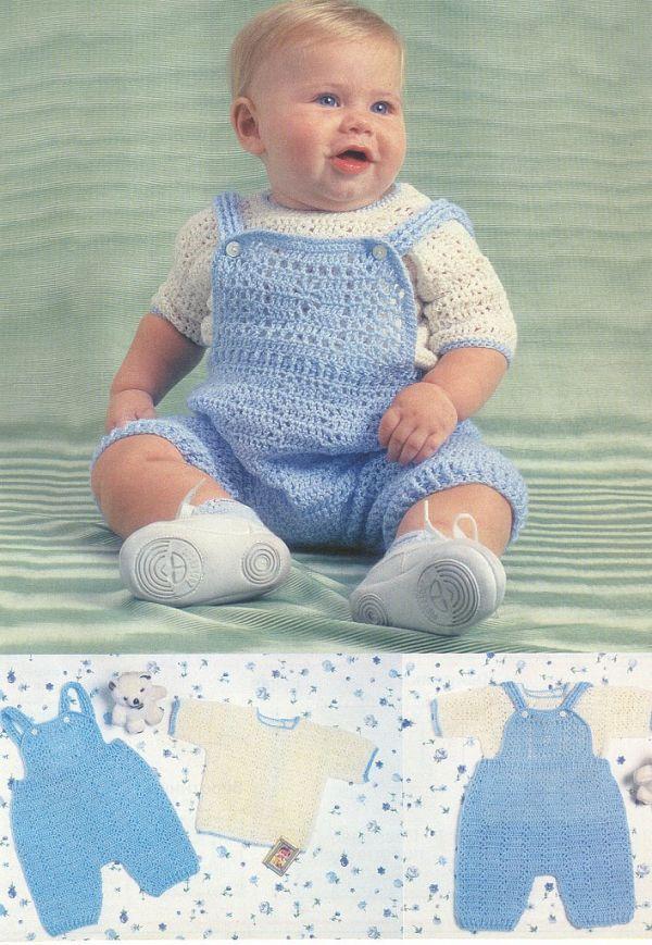 вязание комбинезон дети до 3 лет