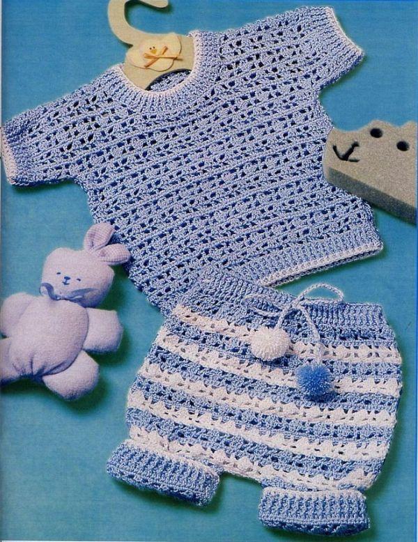 Схемы вязания для самых маленьких
