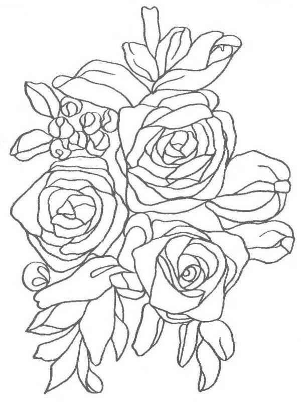 Вышивка Лентами Розы Схемы.