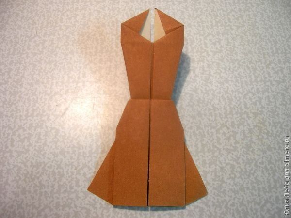 Если Вы выполняете платье из