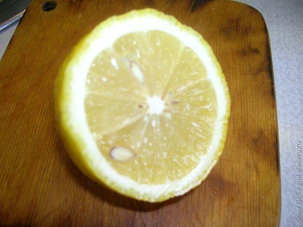 Бананово-лимонный пирог с кремом
