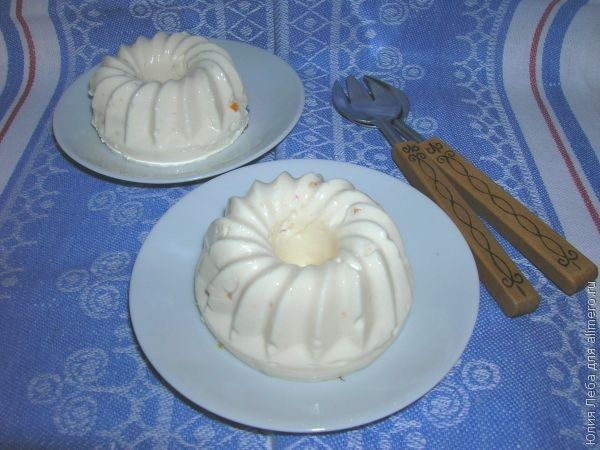 молочное суфле рецепты
