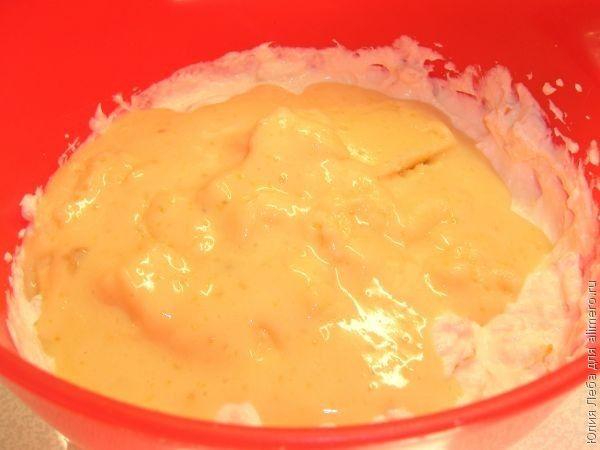 Молочное суфле с цукатами