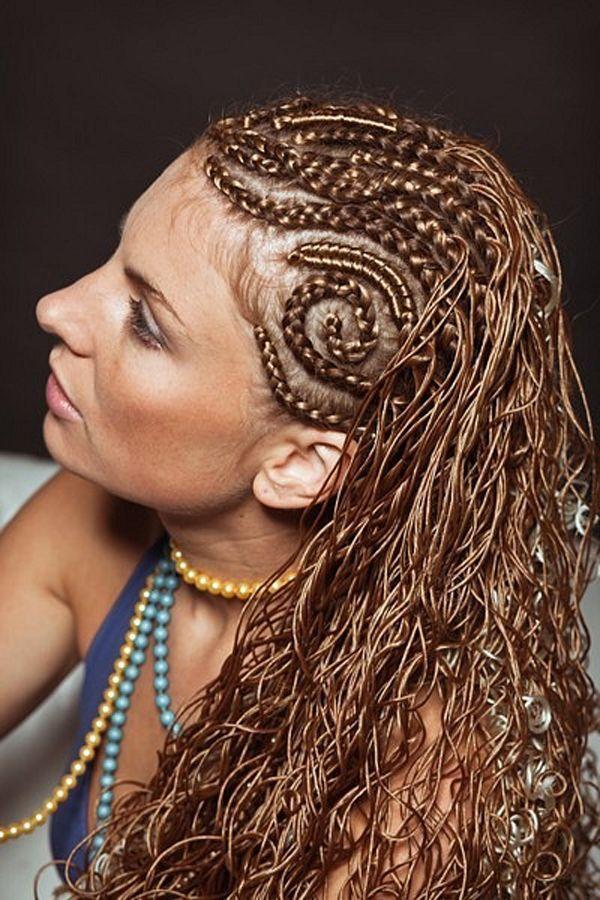 Какие причёски можно сделать из африканских косичек