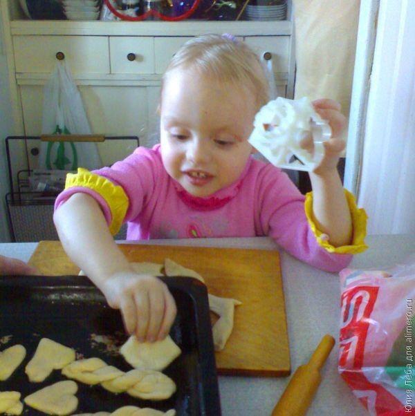 Детские печенья на кефире